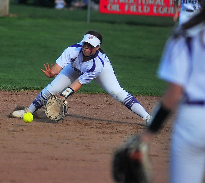 Triway's Hailey Massaro leads the area in battling average, home runs and RBIs.
