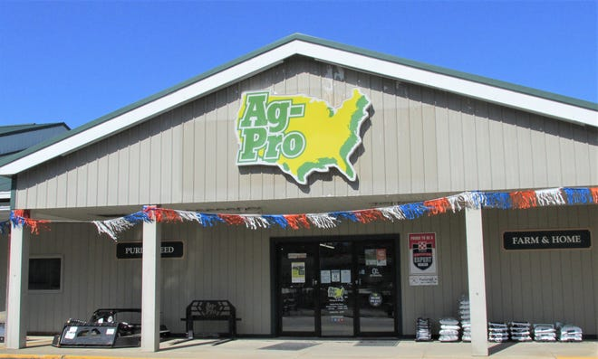 """Moore's Lawns and Garden on South Washington Road in Millersburg is now Ag-Pro. Former owner Marlin Moore said, """"I'm 75 now, and after 32 years in business, I thought it was time to enjoy things a little bit. I'm working on my own tractors now ... ."""""""