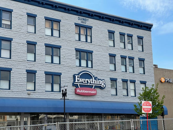 Everything Rubbermaid store located on South Market Street is set to close its doors in the near future.