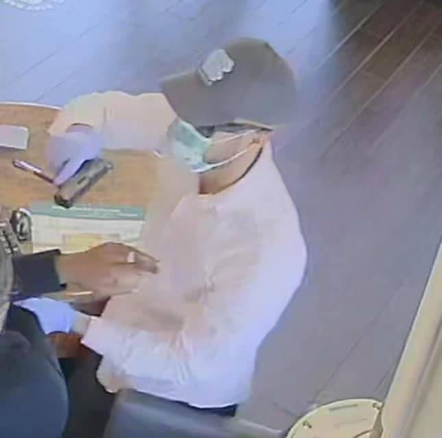 An armed suspect robbed Spring Hill's First Citizen Bank at about 12:05 p.m. on Friday, April 9, 2021.