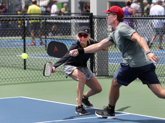 Group lessons and round robin fun play will be part of Pickleball Palooza at Pictona at Holly Hill. .