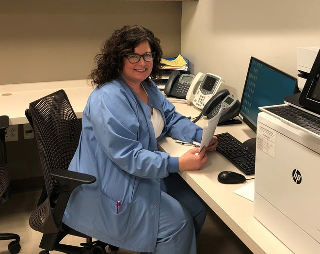 Kay Edinger is a 23-year employee of AHN Saint Vincent Hospital, where she serves as nurse manager of Labor and Delivery and the Mother-Baby Unit. She is also in her second year of the online master's program in Integrative Nursing Leadership at Mercyhurst University.
