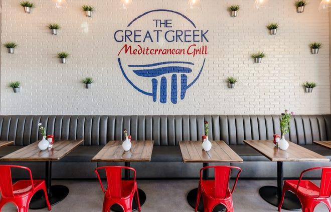 Το Great Greek Mediterranean Grill σχεδιάζει να ανοίξει το πρώτο εστιατόριο στην περιοχή Jacksonville στο The Shoppes of St.  Johns Parkway, 60 Καταστήματα Blvd.  Στο St. Johns.