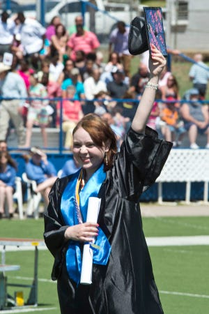 Commencement will be held May 7-9 at Paul Laird Field.