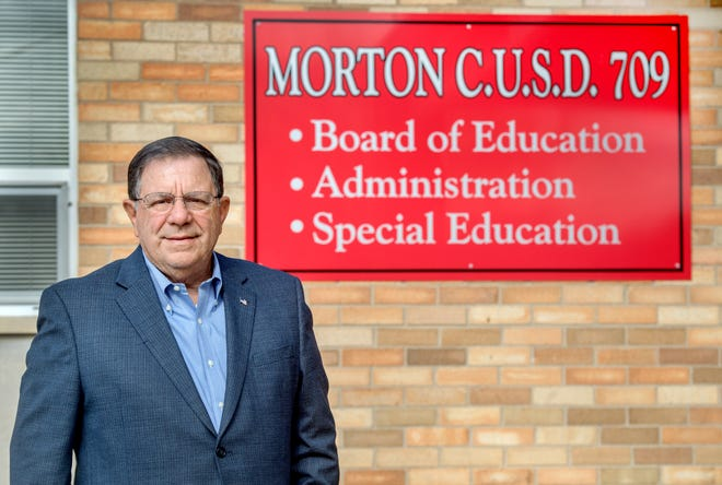 Tom Neeley has been on the Morton School Board since 1989 and ran unopposed in the April 6 election. He's also president of the Illinois Association of School Boards.