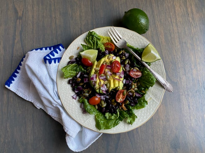 The combination of grains and beans in a Grain Bowl provides protein, as in any rice and beans dish. You can also add extra protein, such as diced chicken breasts.