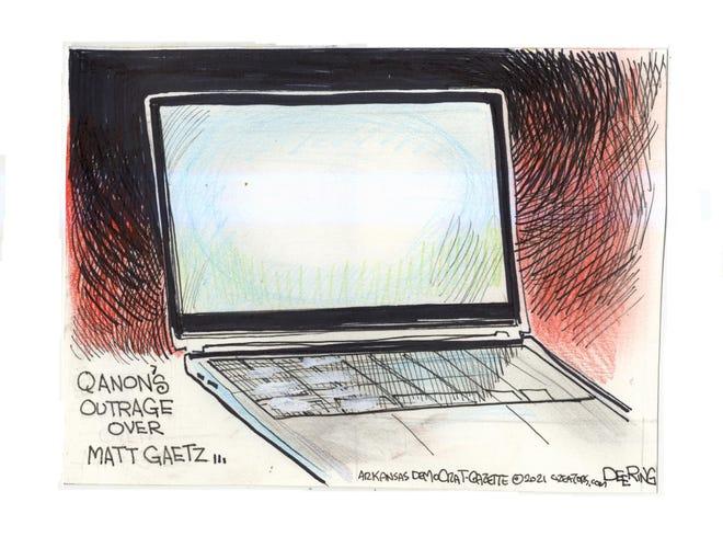 Today's editorial cartoon (April 10, 2021)