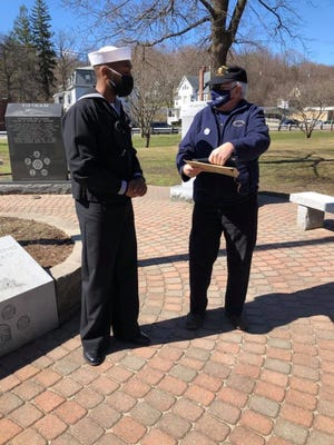 Members of Vietnam Veterans of America Chapter 116 gathered at Carter Park in Leominster March 29 to mark Vietnam Veterans Day.
