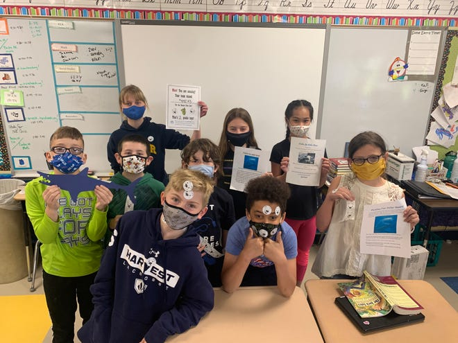 Students at Victor Intermediate School raise money for animal enrichment objects at Seneca Park Zoo.