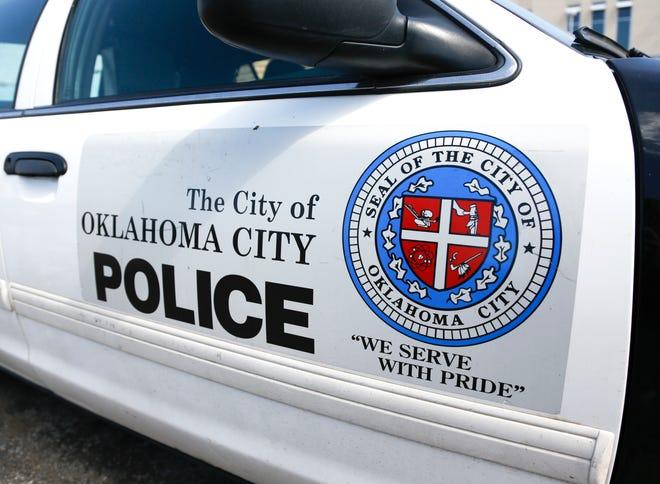 An Oklahoma City police car.