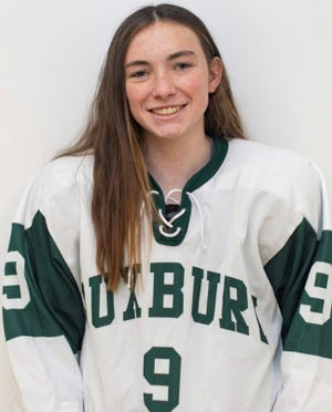 Ayla Abban of Duxbury High has been named to The Patriot Ledger All-Scholastic Girls Hockey Team.