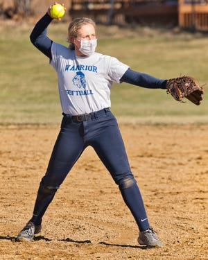Winnacunnet senior Macie Harkovich hopes to pitch the Warriors to a second straight Division I championship game this season.