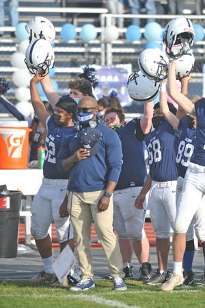 Friday's game was the debut of Westerly head coach Stanley Dunbar, who was named to the position last November.