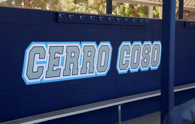 The Dawg Yard's dugouts got a fresh paint job for this upcoming season. Cerro Coso and Taft College faceoff this Saturday.