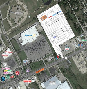 This overview of Washington Commons provides a look at the space the current list of signed tenants will occupy.
