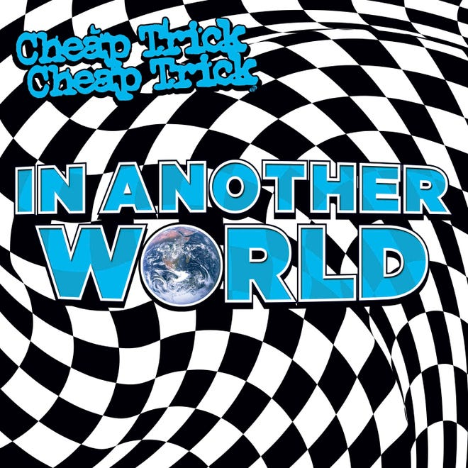 """This cover image released by BMG shows """"In Another World,"""" a release by Cheap Trick."""