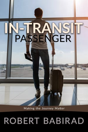 """""""In-Transit Passenger,"""" by Robert Babirad, is a combination of a self-help, travel and memoir book. It details Babirad's time spent in Kansas."""