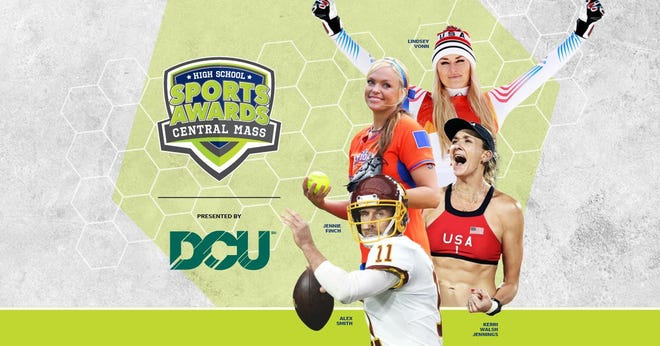 Lindsey Vonn, Alex Smith, Kerri Walsh, and The Bachelor's Matt James and Tyler Cameron, will be among a highly decorated group of presenters and guests for the Central Massachusetts High School Sports Awards