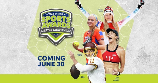 Lindsey Vonn, Alex Smith, Kerri Walsh, and The Bachelor's Matt James and Tyler Cameron, will be among a highly decorated group of presenters and guests for the Greater Fayetteville High School Sports Awards