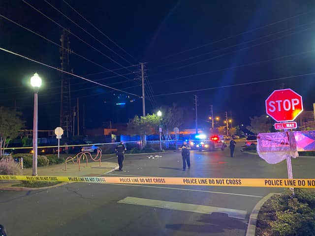 Following incidents like the April 8 fatal hit-and-run of a pedestrian in Temerson Square, seen being investigated by police in this file photo, Tuscaloosa city officials are planning a trial weekend of making the popular entertainment area pedestrian only for three nights later this month.