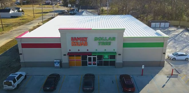 A combination Family Dollar/Dollar Tree, like the one from this screencapture of a corporate promotional video, is coming to Brookwood.