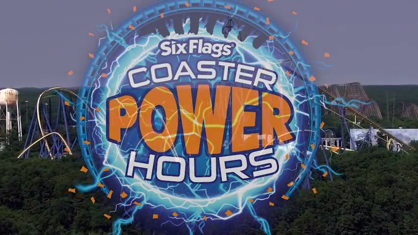 Six Flags Great Adventure and Safari introduce 'Coaster Power Hours'