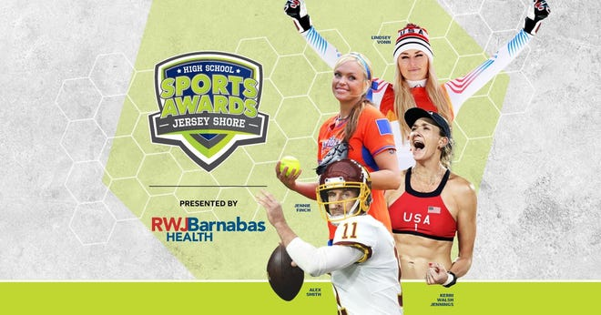 Lindsey Vonn, Alex Smith, Kerri Walsh, and The Bachelor's Matt James and Tyler Cameron, will be among a highly decorated group of presenters and guests for the Jersey Shore High School Sports Awards