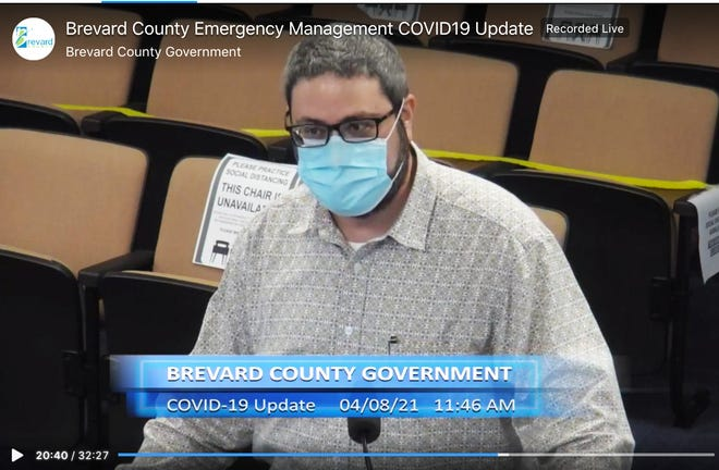 Brevard County Housing and Human Services Director Ian Golden discusses Brevard's Emergency Rental Assistance Program during the county's latest biweekly COVID-19 update.