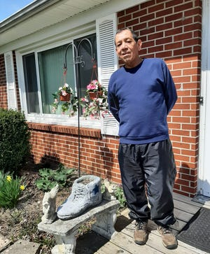 """Edward """"Eddie"""" Naveja has been a Bucyrian for more than 50 years after moving here from Texas with his family."""
