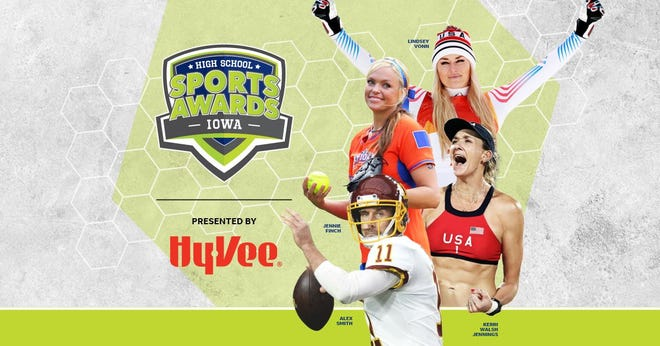 Lindsey Vonn, Alex Smith, Kerri Walsh, and The Bachelor's Matt James and Tyler Cameron, will be among a highly decorated group of presenters and guests for the Iowa High School Sports Awards