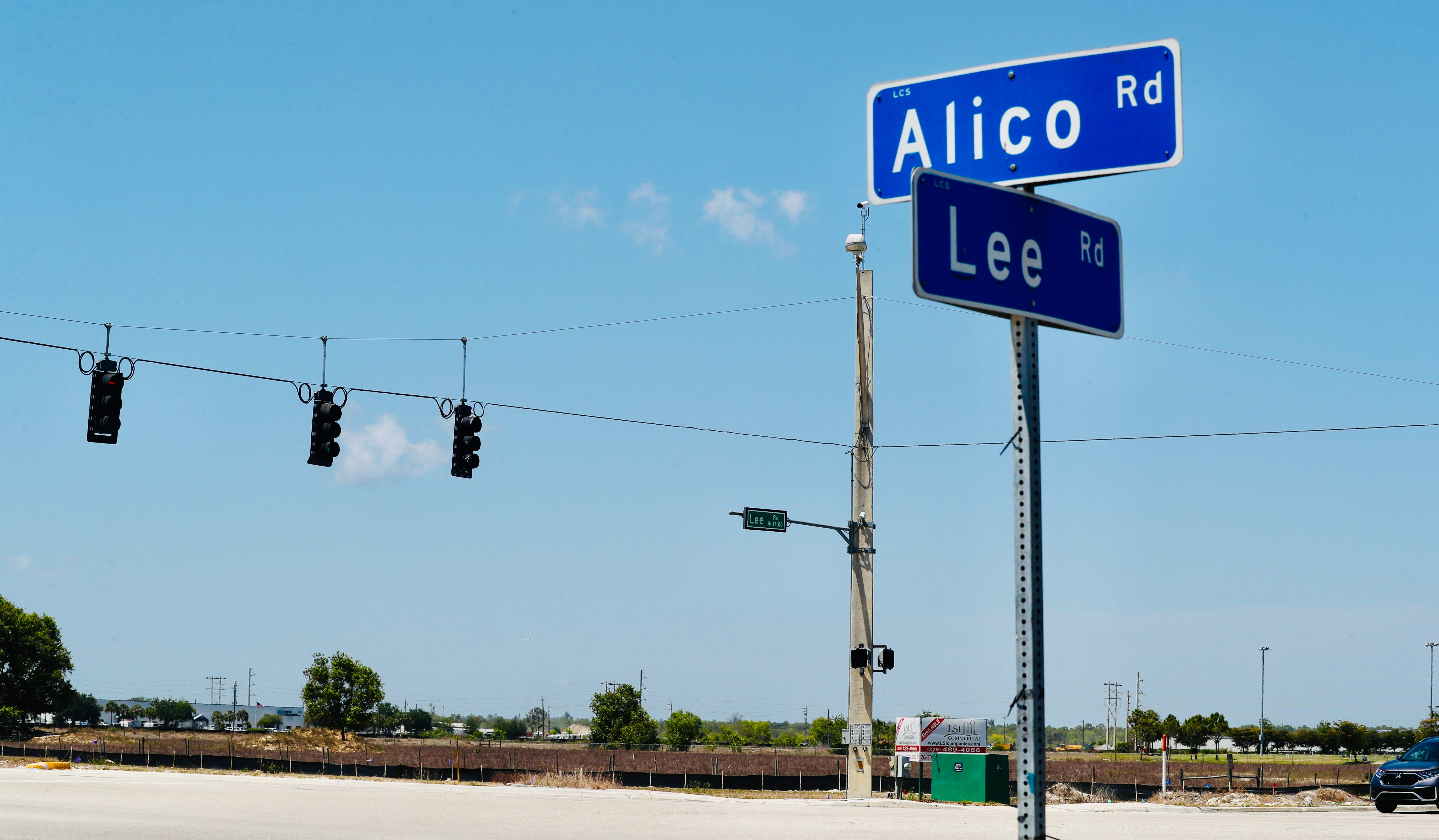 Seefried, business partner of Amazon, buys 60 acres off Alico Road for distribution center 3