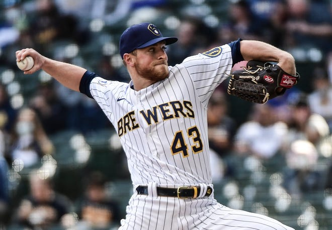 Brewers reliever Drew Rasmussen has struggled so far, but manager Craig Counsell will keep calling his number.