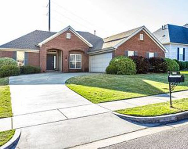 One Highland Ridge home located at 2155 Chancellor Ridge Road is for sale for $215,000 and includes three bedrooms and two bathrooms within 1,874 square feet of living space.