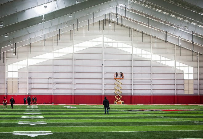 BSU football's 2021 recruiting class will be able to enjoy its new indoor practice facility, but as someone who's grayshirting Tanner Koziol isn't set to join the program until January.