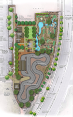 An overview of the first phase of the Santan Adventure Park coming to Crossroads Park in Gilbert.
