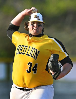 Shane Guise got a save on Monday for Red Lion against Dallastown. He pitched 1 1/3 innings of one-hit shutout relief. He struck out three and walked four.