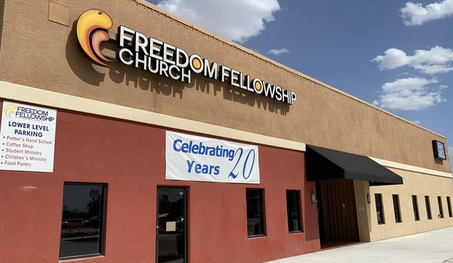 Freedom Fellowship Church will host a 20th year celebration on April 11, 2021, which will include a picnic and bounce houses.