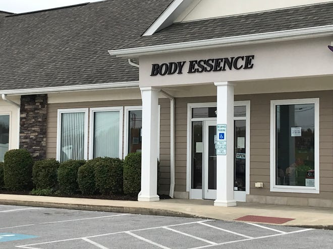Body Essence, located just outside of Staunton.