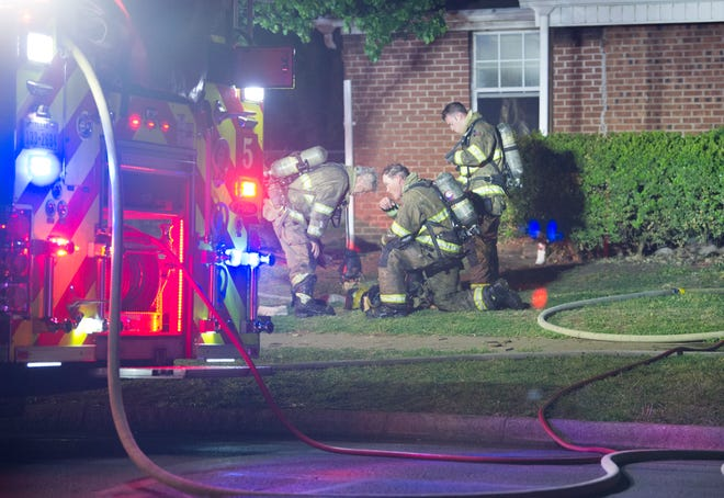 Wichita Falls Firefighters battled an early Friday morning house fire on York Street.