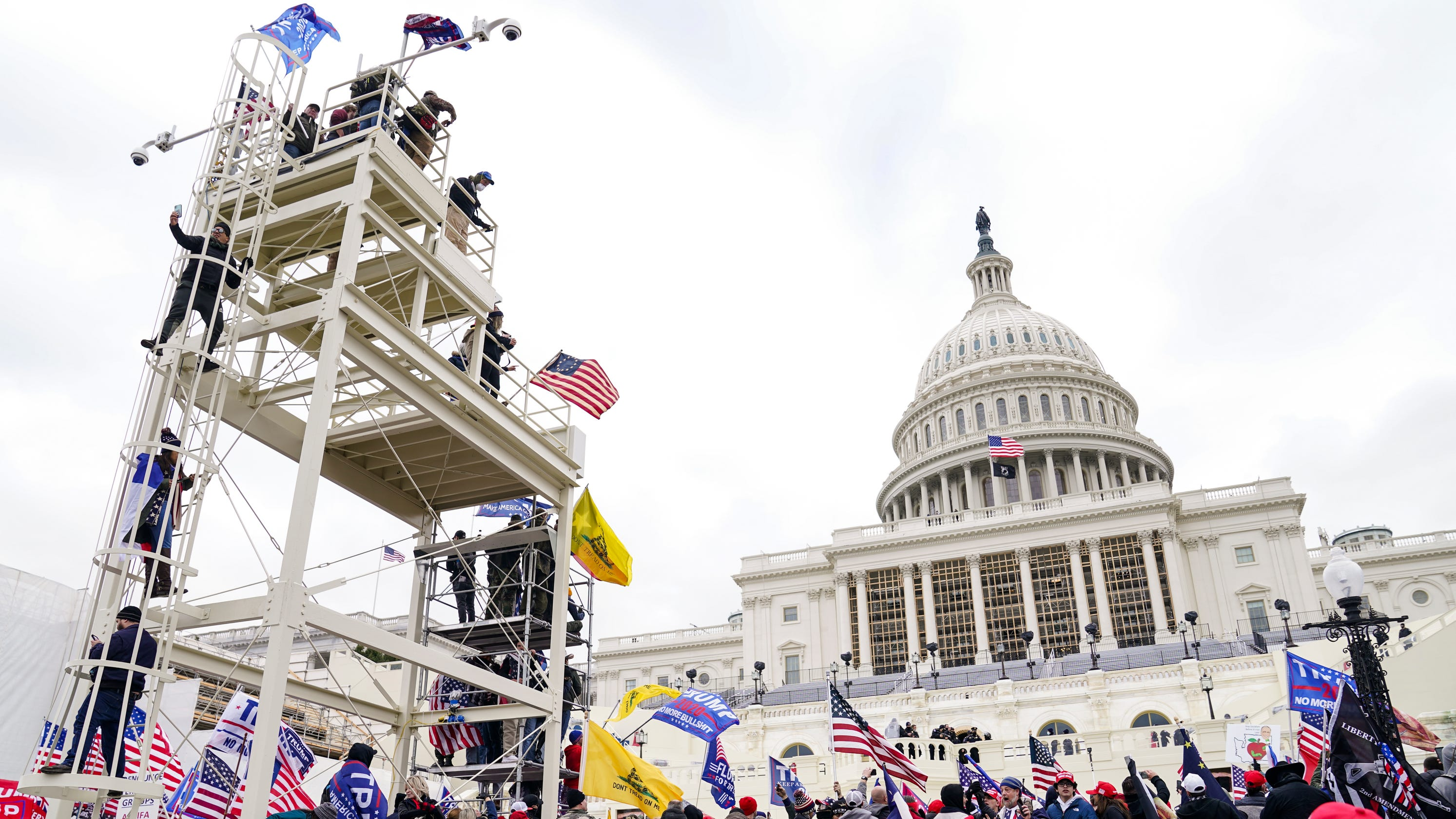 Capitol police watchdog says heavy, non-lethal munitions would've helped in Jan. 6 insurrection