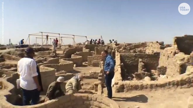 """It was buried in the sand for three millennium. It is the """"largest city ever discovered in Egypt."""""""