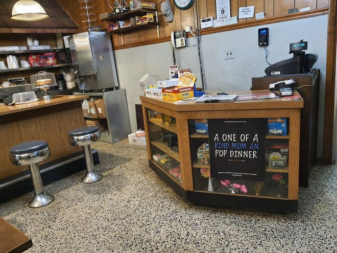 Noble's Restaurant and Truck Stop in Corinth, Kentucky, feels like a highway version of the Cheers bar.