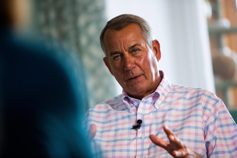 Exclusive: John Boehner believes Matt Gaetz should step down if indicted