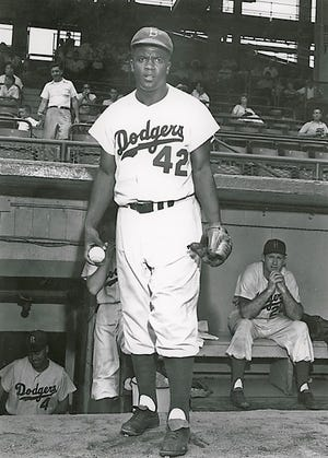 Jackie Robinson, the groundbreaking star of the Brooklyn Dodgers, came to Augusta in 1950 with an all-star team to play Augusta's Black Giants.