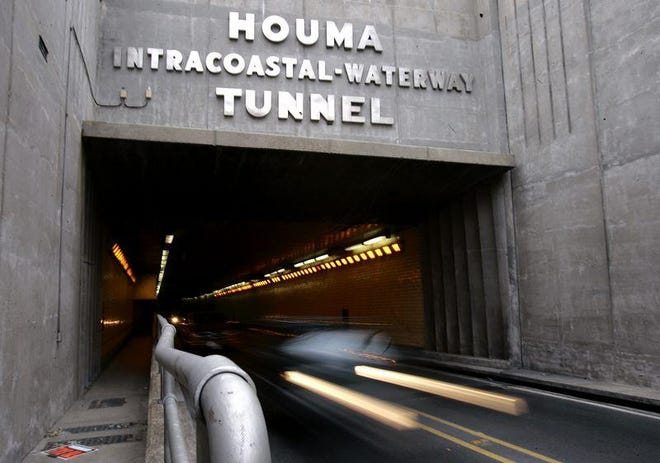 The Houma Tunnel will close for maintenance from 9 a.m. to 2  p.m. this Monday through Thursday.