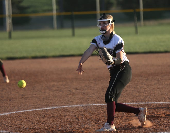Hays High's Aubree Thomas was a first-team All-WAC selection.