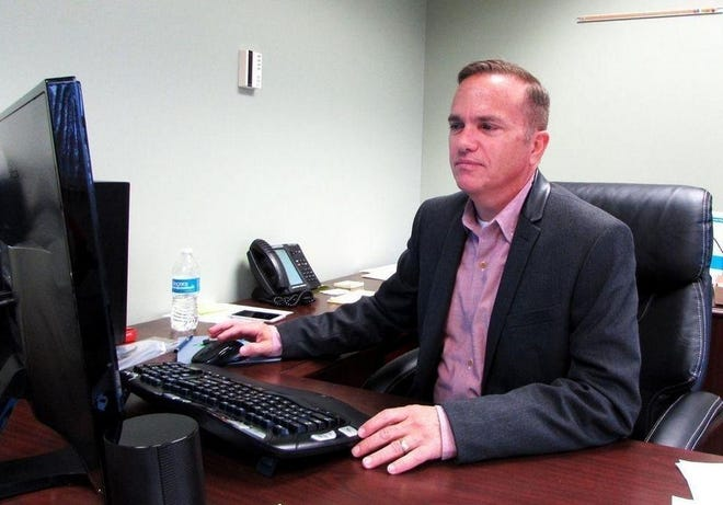 Former Pekin City Manager Tony Carson.