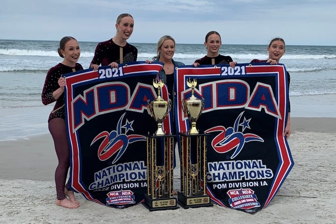 Texas Tech's Pom Squad took first place in pom and jazz.