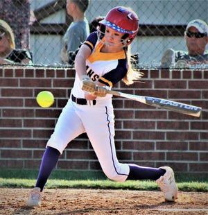 Anacoco lefty Brooklyn Bryant had an RBI in the Lady Indians' comeback win Thursday over Pitkin, 3-2