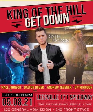 The King of the Hill Get Down is set for May 8th.
